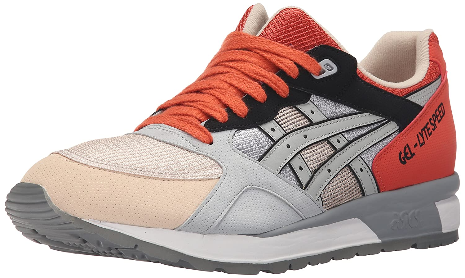 ASICS GEL Lyte Speed Retro Running Shoe B00ZQ9CQKC 10.5 M US|Light Grey/Light Grey