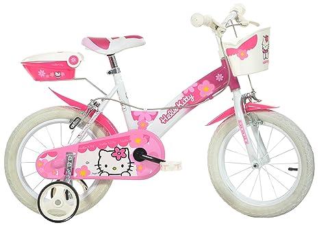 Dino Bikes 154 Nl Hk Hello Kitty Bicicletta 14 Pollici