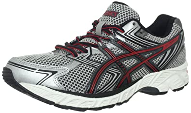 ASICS Men's GEL-Equation 7 Running Shoe,Lightning/Onyx/Red,8