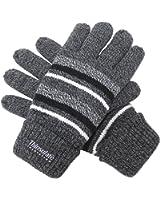 (エクサス)EXAS ボーダー柄紳士ニット手袋