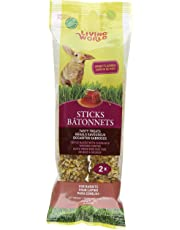 Living World 60680 Rabbit Honey Treat Sticks, 4-Ounce
