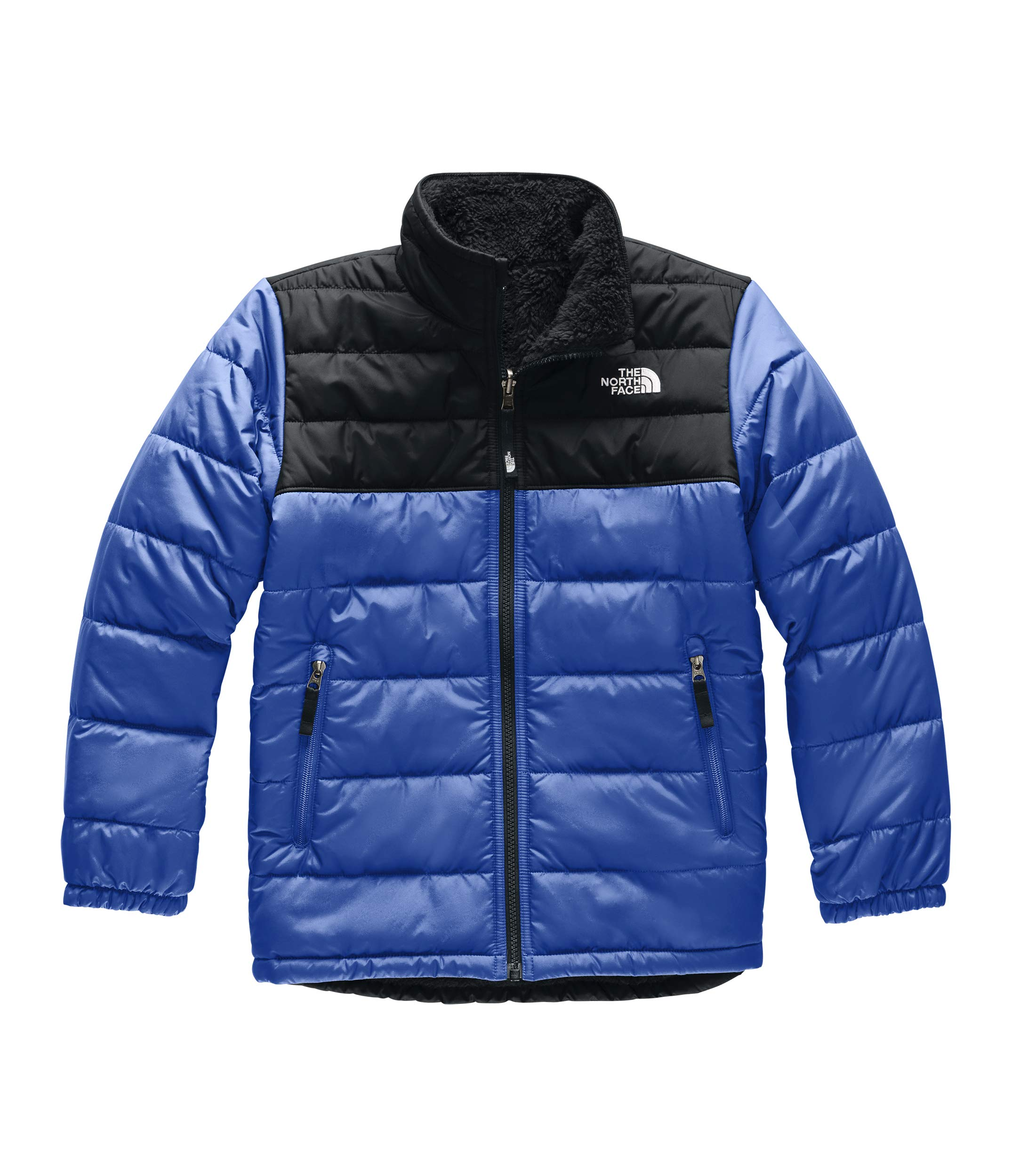 The North Face Boys' Reversible Mount Chimborazo Jacket, TNF Blue, L by The North Face
