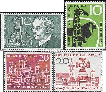 Prophila Collection Brd Brdeutschland 284288 Komplausg 1958