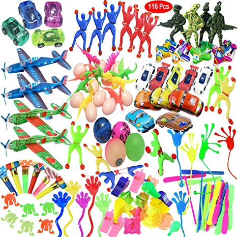 Mattelsen Juguetes Cumpleaños Infantiles Juguete del Partido Favor 116 Pcs Juguetes para Rellenar piñatas y Bolsas de Regalo de Fiestas de cumpleaños ...