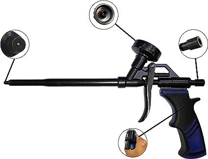 Pistola de espuma, pistola de espuma de construcción, pistola de ...