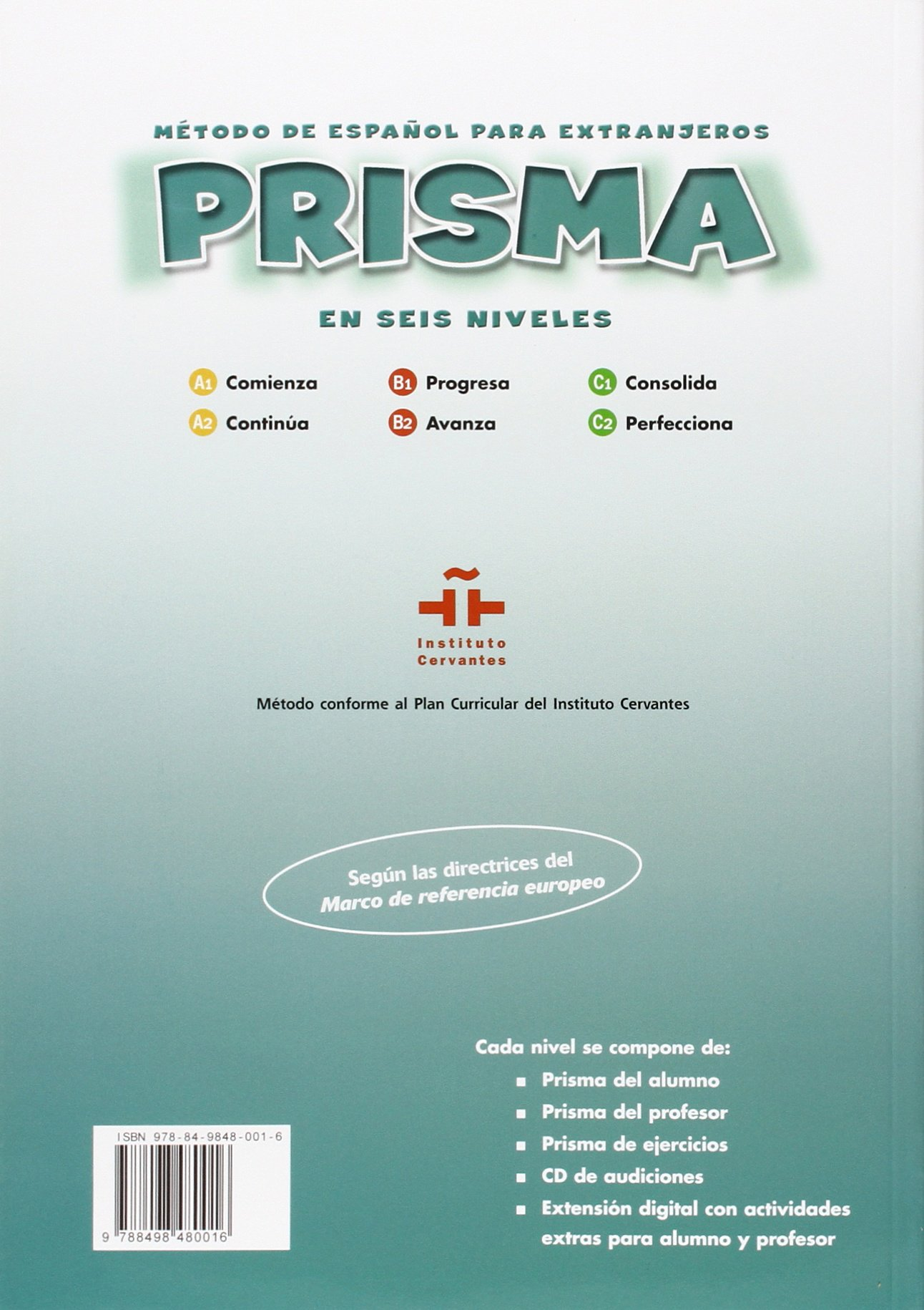 Prisma a2 continua student book cd prisma cd amazon prisma a2 continua student book cd prisma cd amazon club prisma team maria jose gelabert 9788498480016 books fandeluxe Images