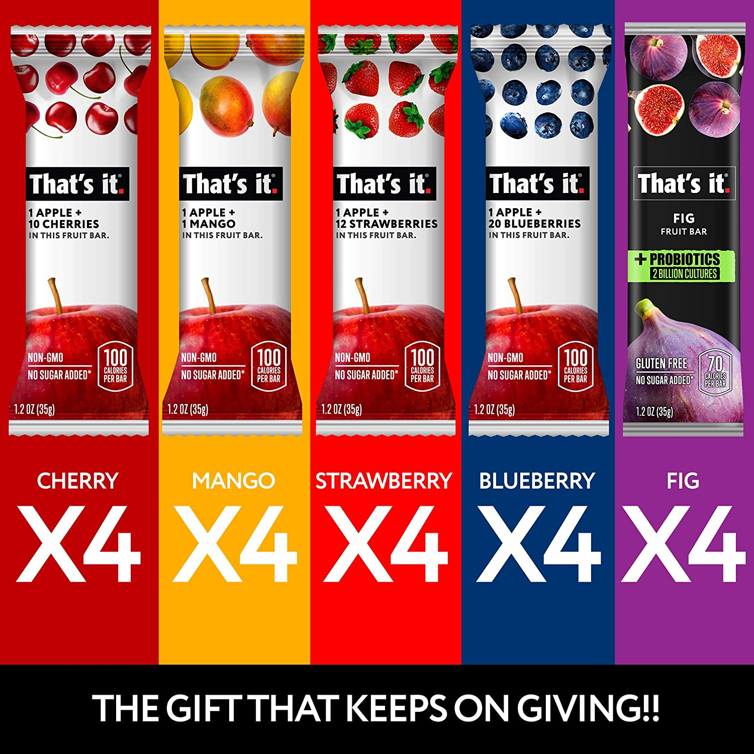 Deal Of The Day That S It All Natural Fruit Bars