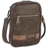 Lois - Bolso Bandolera Pequeño para Móvil de Piel Sintética Hombre de Marca 310217