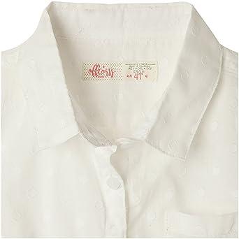 Amazon.com: OFFCORSS Toddler Girls Sleeveless Collared Shirt Blouse | Blusa Casual de Niña: Clothing