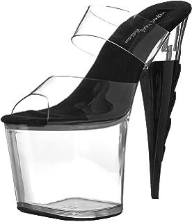 9baf4039e8d9 The Highest Heel Women s Inferno-11-CLBK Platform Sandal