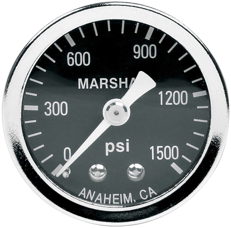 Allstar Performance ALL80218 0-1500 PSI NOS Dry Type Shockproof Pressure Gauge by Allstar