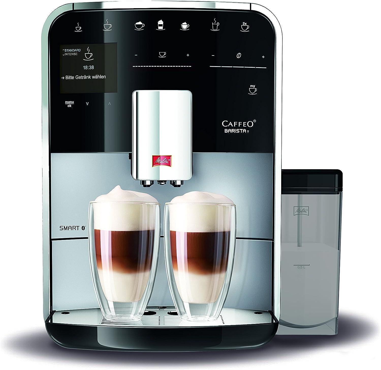 Melitta F830 101 Barista T Smart Coffee Machine 1450 W 18 Liters Silver