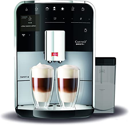 Melitta F830 101 Barista T Smart Coffee Machine 1450 W 18 Liters Silver