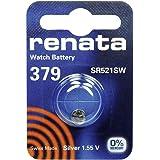 379 (SR521SW) Batterie de Pièces de Monnaie / Oxyde D'argent 1.55V / pour Les Montres, Torches, Clés de Voiture, Calculatrices, Appareils Photo, etc / iCHOOSE