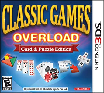 Classic games overload: card & puzzle edition on 3ds.