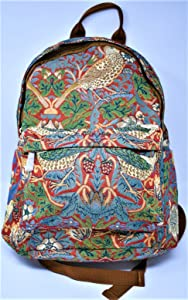 Signare 25482-Strawberry Strawberry Thief Tapestry Large Backpack