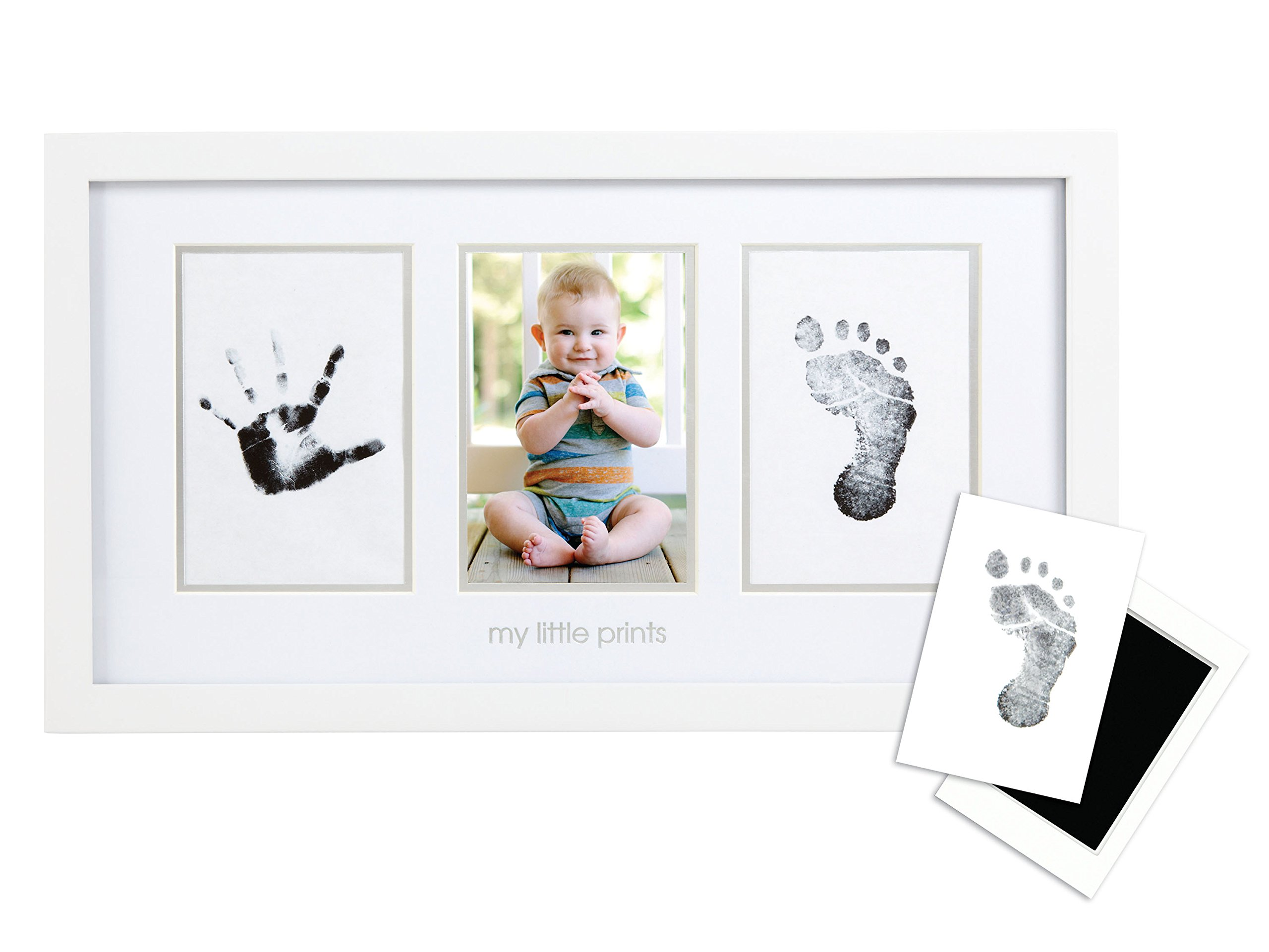 Pearhead Babyprints Handprint And Footprint Photo Frame With Clean-Touch Ink .. 20