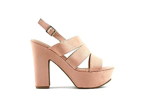 Modelisa - Zapatos De Tacon Ancho Mujer (36 e6ff922504b8