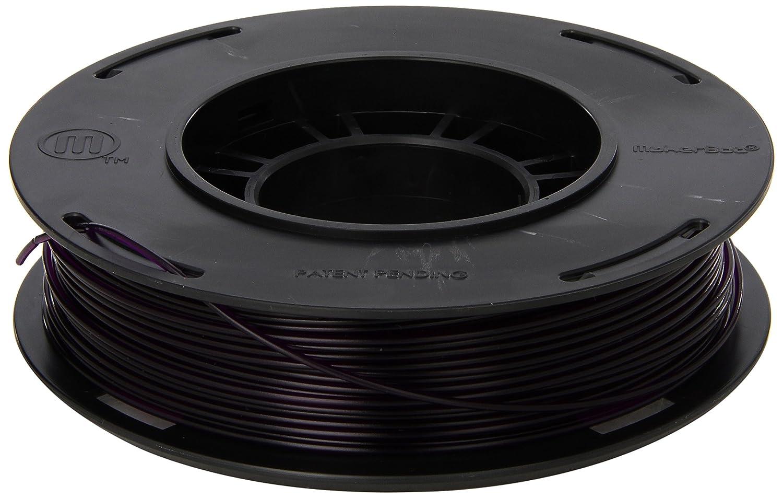 MakerBot PLA Filament, 1.75 mm Diameter, Small Spool, Translucent Purple MP05769