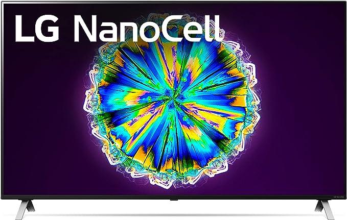 "Amazon.com: LG 49NANO85UNA Alexa Built-In NanoCell 85 Series 49"" 4K Smart UHD NanoCell TV (2020): Electronics"