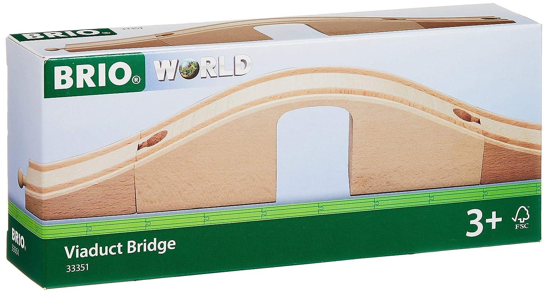 B00000IUKQ BRIO World - 33351 Viaduct Bridge | 3 Piece Wooden Toy Train Accessory for Kids Ages 3 and Up 81j60u8GjgL