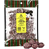 Asia Trans Sweet Seedless Li Hing Mui Crack Seed Plums | Hawaiian Favorite | Naturally Sweet Dried Asian Plum Candy (4 oz)