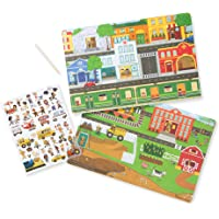 Melissa & Doug Transfer Sticker Scenes Set - Around The Town Toy