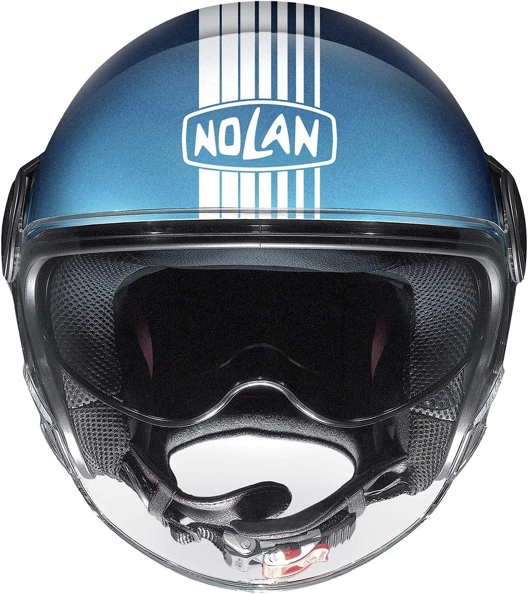 NOLAN CASCO N21 VISOR JOIE DE VI FLAT SAPPHIRE BLUE XXS
