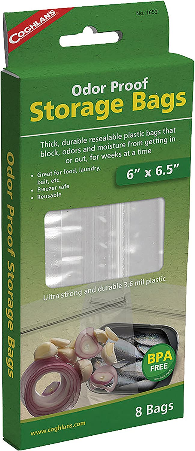 Coghlan's Odor Proof Storage Bags, Small