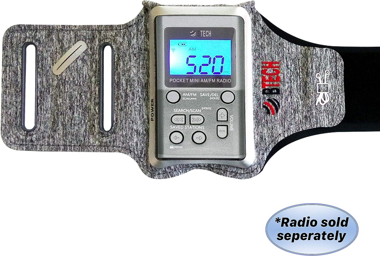 BTECH MPR-AB Armband Radio Holster Designed for The MPR-AF1 AM FM Pocket Radio: Electronics