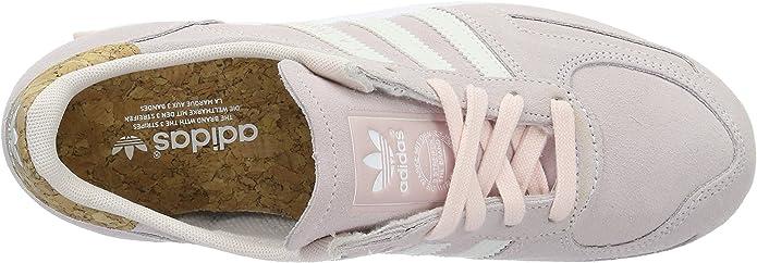 adidas Damen La Trainer Sneaker, Pink (Halo Pink S16Off