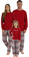 SleepytimePjs Family Matching Christmas Nordic Pajamas PJS Sets For The Family