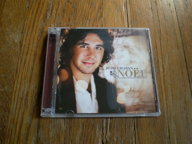 JOSH GROBAN NOEL - Josh Groban Noel Limited Edition CD + bonus DVD ...