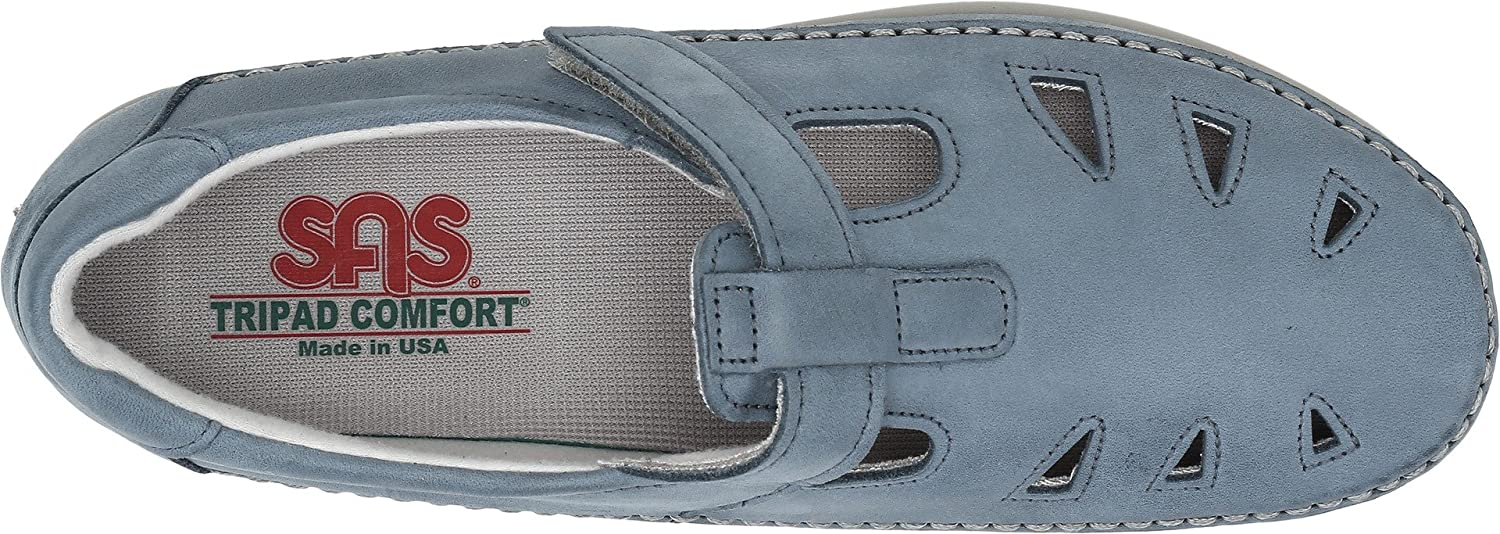 SAS Women's Roamer Slip-on B00JRFSAGU 7.5 M (M) (B) US|Denim