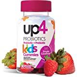 up4 Kids Probiotic Gummies | Digestive and Immune Support | Gelatin-free, Vegan, Non-GMO | With prebiotic and vitamin C…