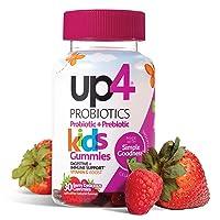 up4 Kids Probiotic Gummies | Digestive and Immune Support | Gelatin-free, Vegan,...