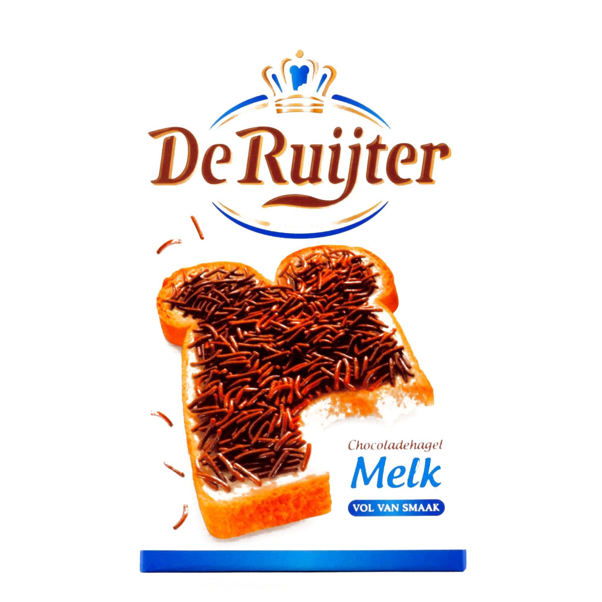 De Ruijter Milk Chocolate Sprinkles 14 oz each (3 Items Per Order) by De Ruijter