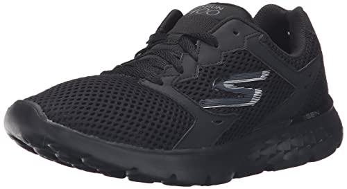 Womens Go Run 400 Multisport Outdoor Shoes, Black/Aqua Skechers