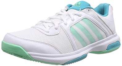 promo code 8682e cbaf7 adidas Performance Barricade Aspire STR, Chaussures de Tennis Femme, Blanc- Weiß (FTWR