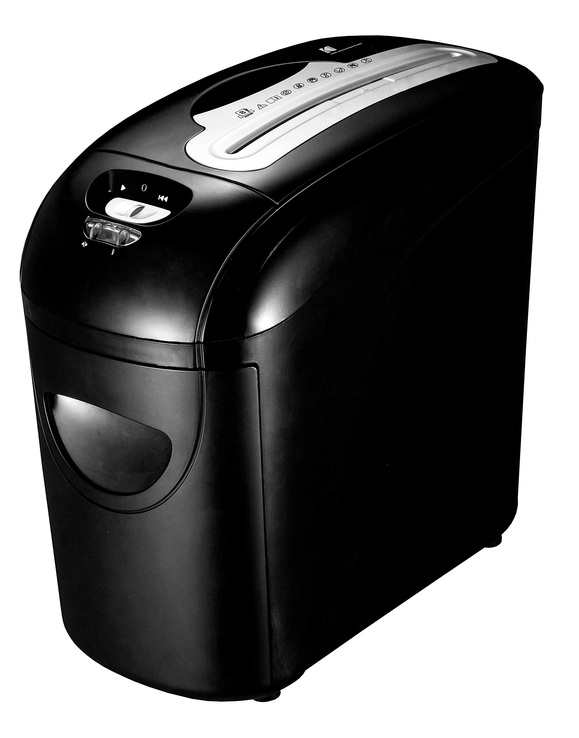 KODAK 8 Sheet, Cross-Cut Paper Shredder, Big Pull-Out Bin = Less Dumping Mess! Double Life-Span. Price-Reduced !!! by Kodak (Image #2)