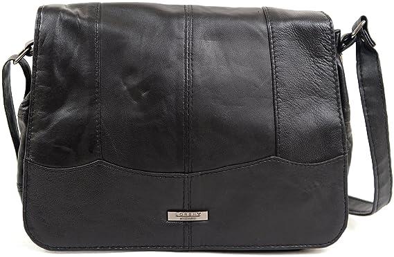 e6a1362c7a Ladies   Womens Small Soft Nappa Leather Casual   Practical Handbag   Shoulder  Bag  Amazon.co.uk  Clothing