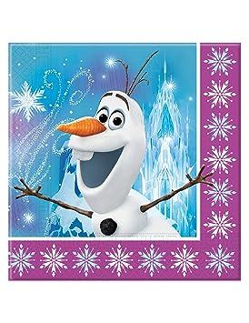 COOLMP - Lote de 6 servilletas de Papel Frozen, Copos de 33 ...