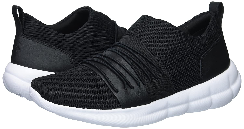 Under Armour Women's Slouchy Slip Sneaker B072BXTB4Y 8.5 M US|Black (001)/White