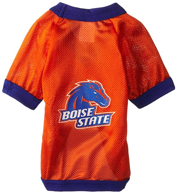 Amazon.com   NCAA Boise State Broncos Athletic Mesh Dog Jersey   Sports Fan  Pet T Shirts   Sports   Outdoors f6270cb08
