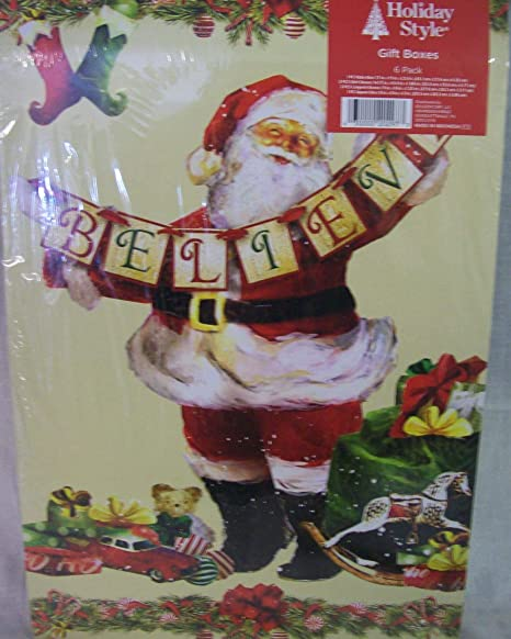 Package from Santa Christmas Eve Box Christmas Gift
