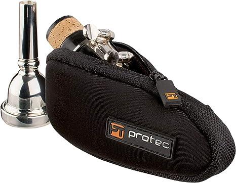 ProTec N264 - Funda de boquilla compatible con boquilla de trombón o saxofón alto (de neopreno), color negro: Amazon.es: Instrumentos musicales