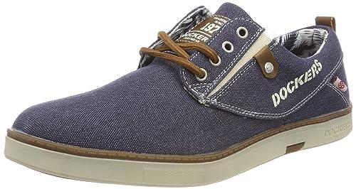 Dockers by Gerli 38se017-797600, Zapatillas para Hombre, Azul (Blau 600), 41 EU
