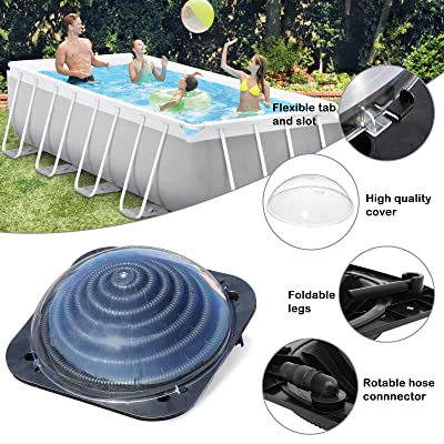 21/' Round 14 Panel Above Ground Pool Replacement Dome Cover