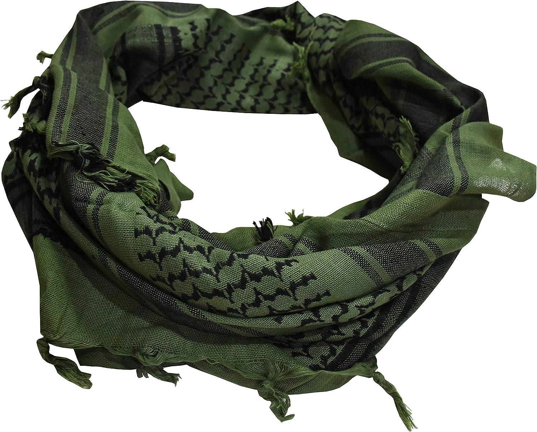 ExTWISTim Shemagh Schal Keffiyeh Arab Wrap Army Military Tactical W/üstenhals 100/% Baumwolle Herrenschleier Kopf Kariertes Unisex-Kopftuch