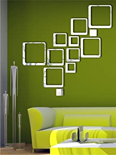 Buy Naveed Arts 3D Acrylic Mirror Wall Dcor Stickers Online at